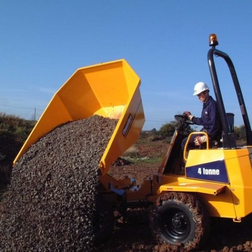 4 Tonne Dumper - Macroom Tool Hire & Sales