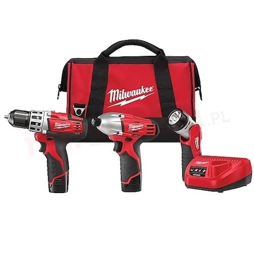Milwaukee C12 PP3B22B Kit - Macroom Tool Hire & Sales