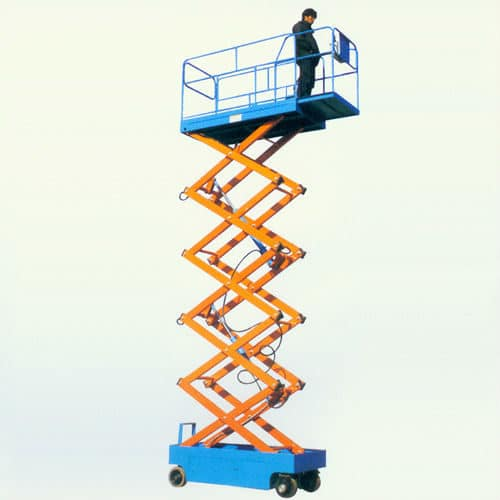 Electric scissor lift - Macroom Tool Hire & Sales