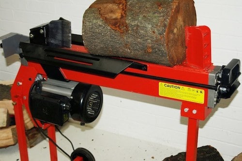 LOG SPLITTER – CUT YOUR WORKLOAD IN HALF (and save your back)
