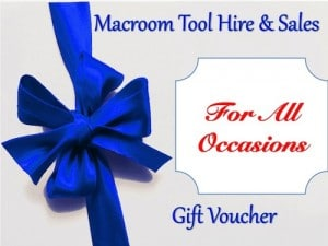 Gift Vouchers for All Occasions - Macroom Tool Hire & Sales