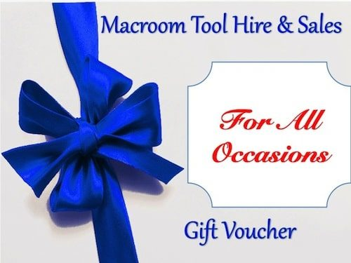 gift vouchers - Macroom Tool Hire & Sales