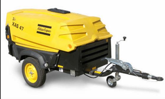 Air Compressor Atlas copco 47 macroom tool hire and sales