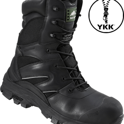 Titanium rockfall boot