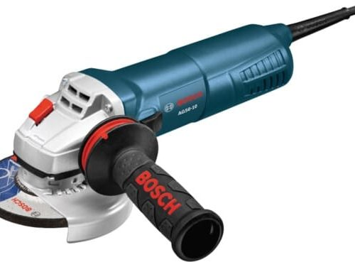 The small angle grinders are powerful, handy tools from Bosch for working on metal. GWS 125 series.