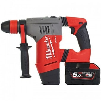 Battery drill with hammer action sds plus acroom tool hire and sales