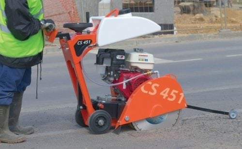 Road Cutting Saw