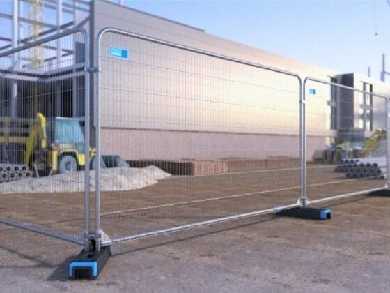 Heavy Duty Round Top anti climb Fencing harris fencing site safety fencing macroom tool hire sales