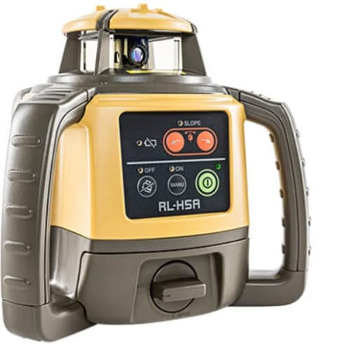 topcon rl-h5a laser level macroom tool hire and sales